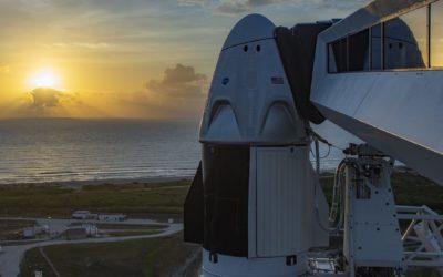SpaceX: Wetter verzögert Neustart der bemannten Raumfahrt in den USA