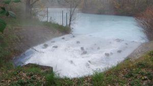 warmes Grubenwasser