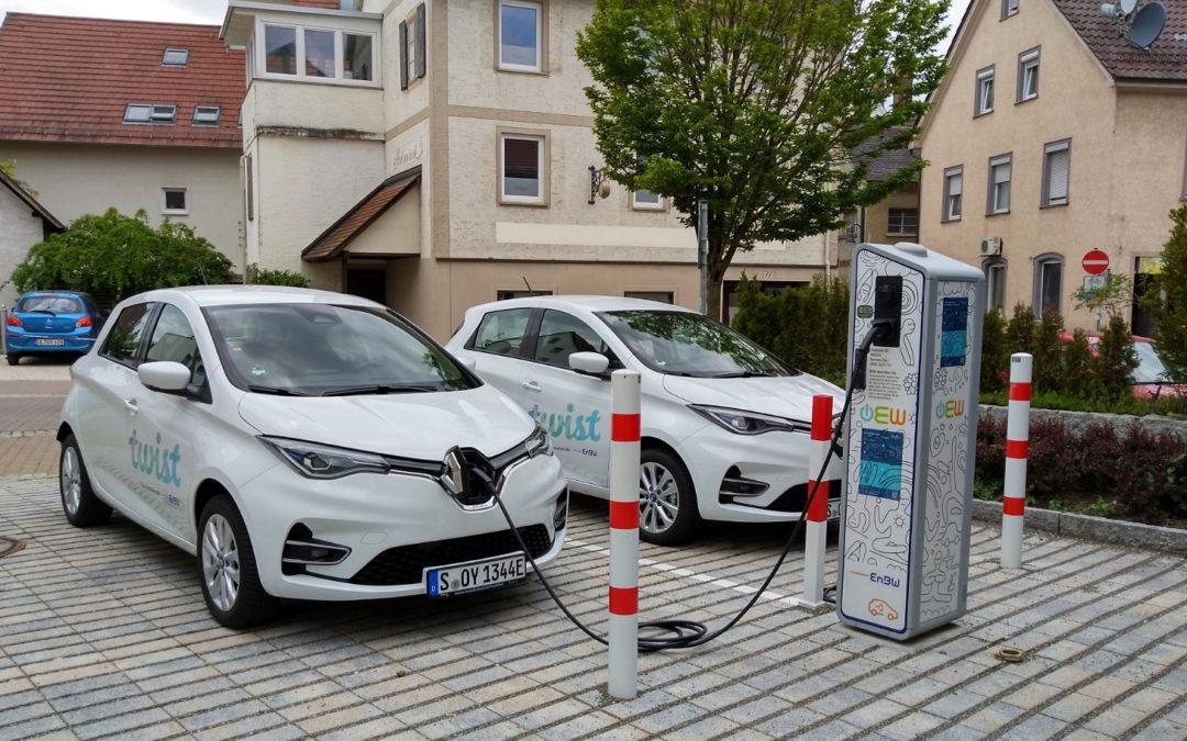 EnBW startet Carsharing mit Elektroautos in Ehingen