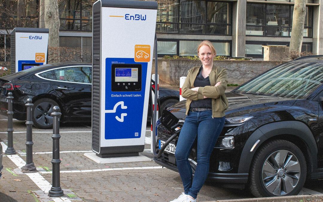 EnBW setzt seine Mitarbeiter ins Elektroauto