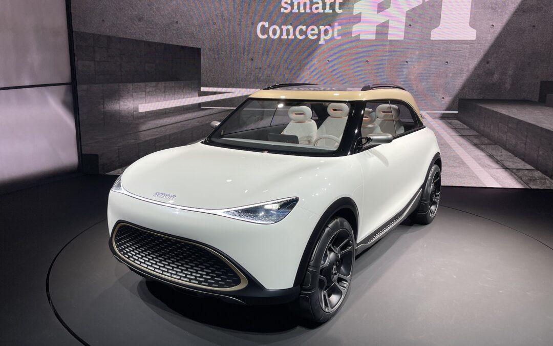 Faszination Smart vor dem Neustart als SUV