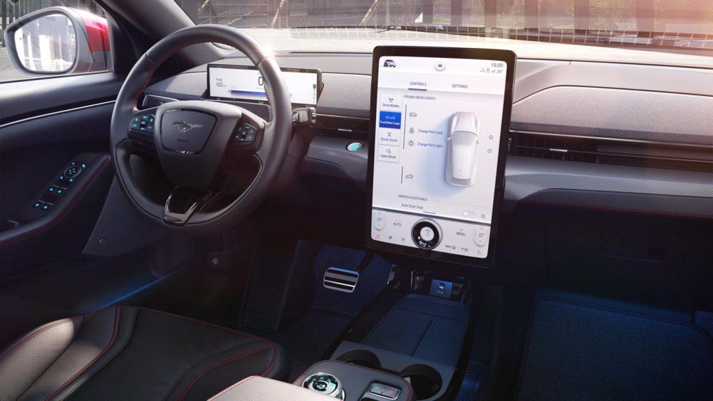 Innenraum des Ford Mustand Mach-E