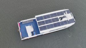 Solarfähre auf Usedom