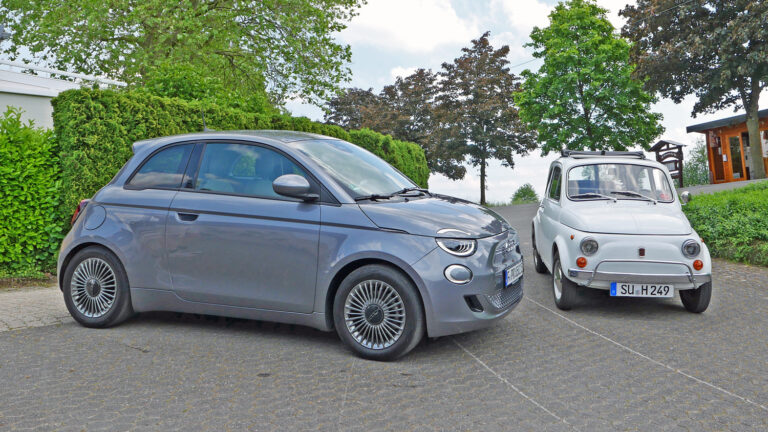 Fiat 500e – die perfekte Ergänzung