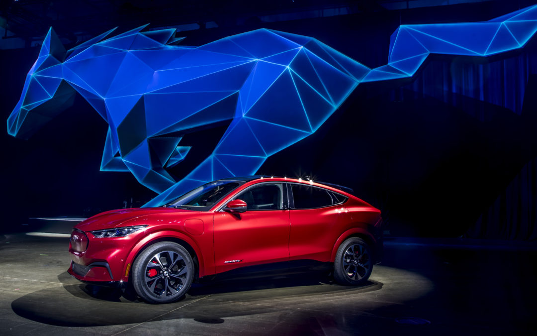 Ford: E-Mustang zum   Aufgalopp