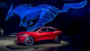 Ponyreiter: Premiere des Ford Mach-E in Los Angeles