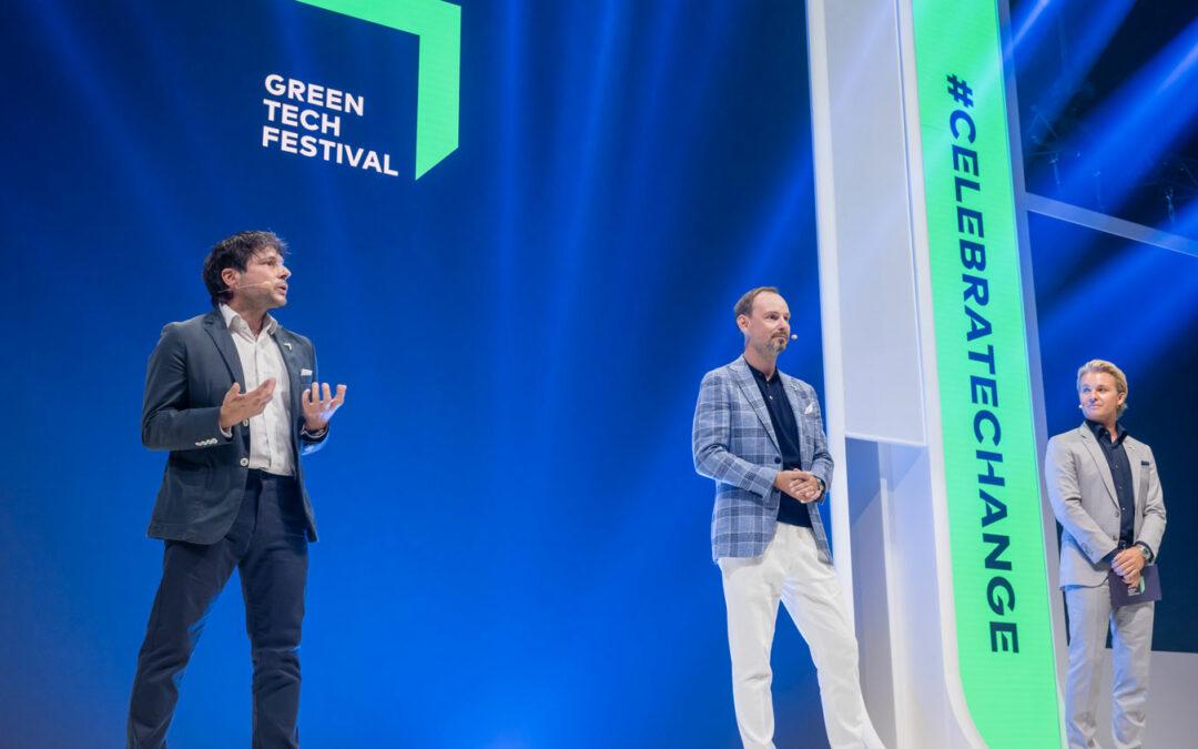 Greentech-Festival diskutiert Wasserstoff und Grillenmehl