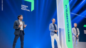 Greentech-Festival mit Nico Rosberg