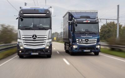 Daimlers Brennstoffzellen-Truck kommt auf die Straße