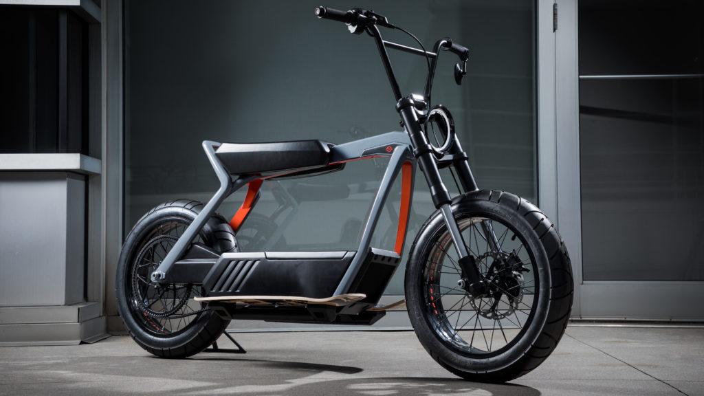 Elektrischer Scooter von Harley-Davidson