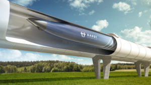 Simulation des Hardt Hyperloop
