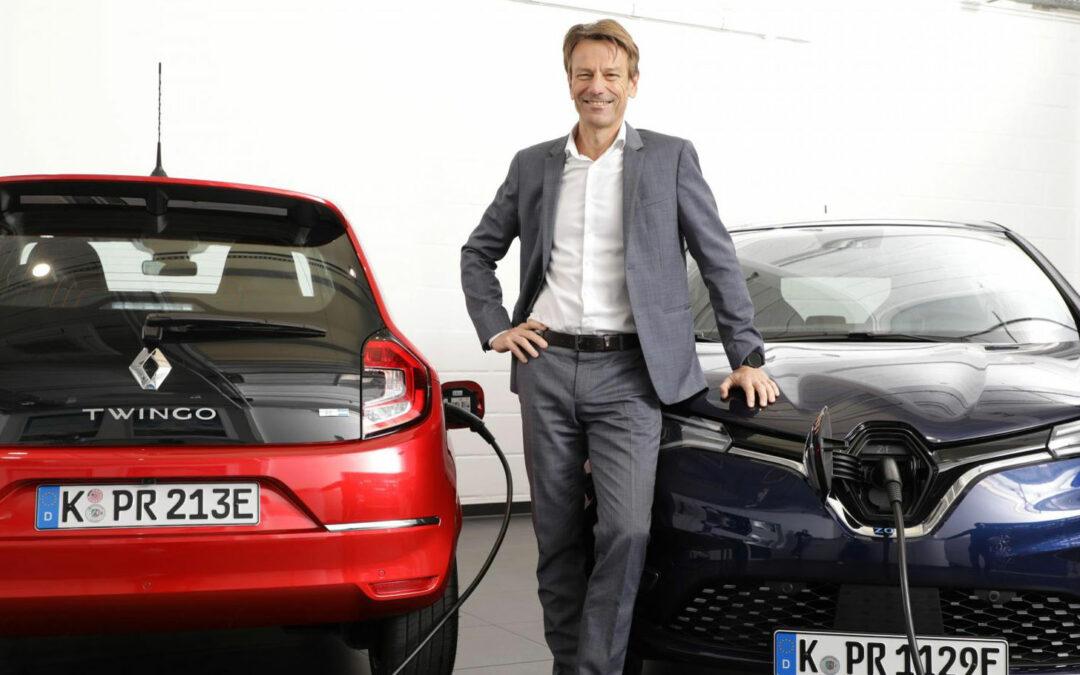 """Renault: """"Am Elektroauto führt kein Weg vorbei"""""""