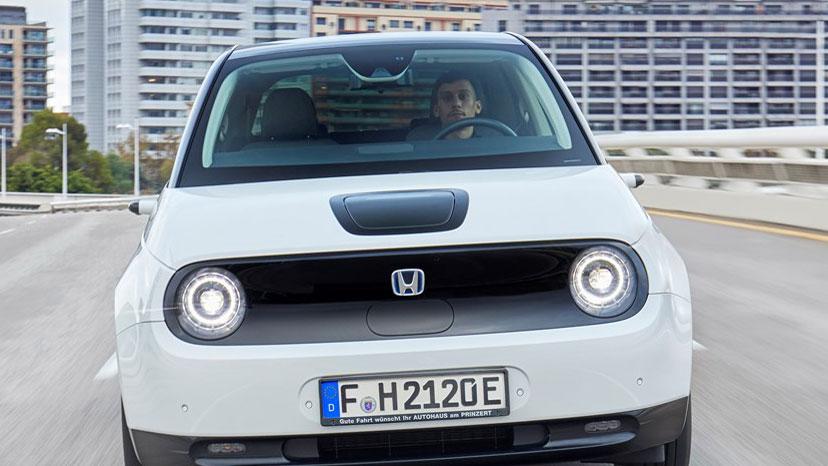Unterwegs im Honda e: Der Letzte räumt die Erde auf