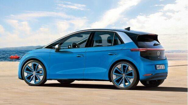 Volkswagen ID.2  Mit einem kompakten Stromer im Polo-Format will Volkswagen erst ab 2025 Renault Zoe und Opel Corsa-e Konkurrenz machen. Produziert werden soll das Modell bei Seat in Martorell. Computerretusche: Bernhard Reichel