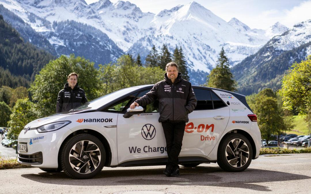 Marathonlauf mit VW ID.3 zum Ladesäulen-Check