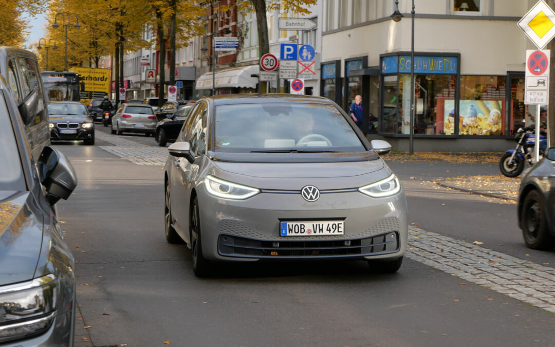 VW ID.3: Einer muss voranfahren