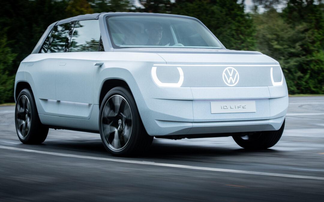 VW ID.LIFE: Erste Ausfahrt im Volks-Stromer