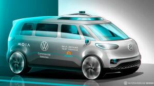 VW ID.Buzz als Robo-Taxi