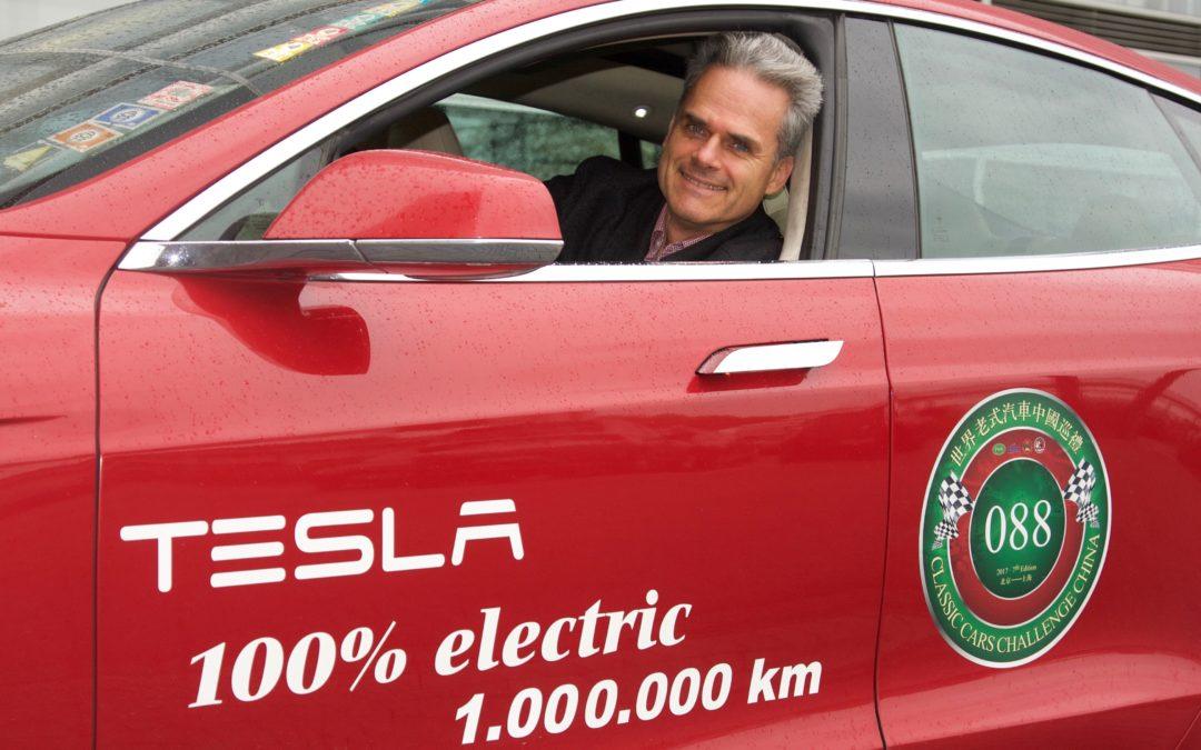 Weltrekord: 1 Million Kilometer im Tesla Model S