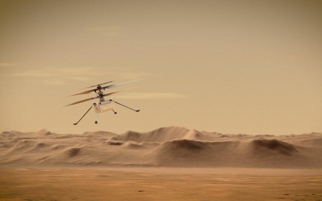 "Mars-Helicopter ""Ingenuity"" hebt erstmals ab"