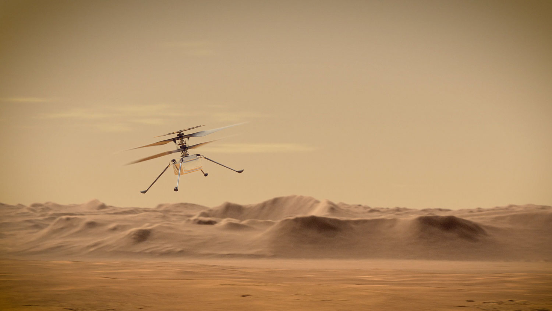 Mars-Helicopter Ingenuity