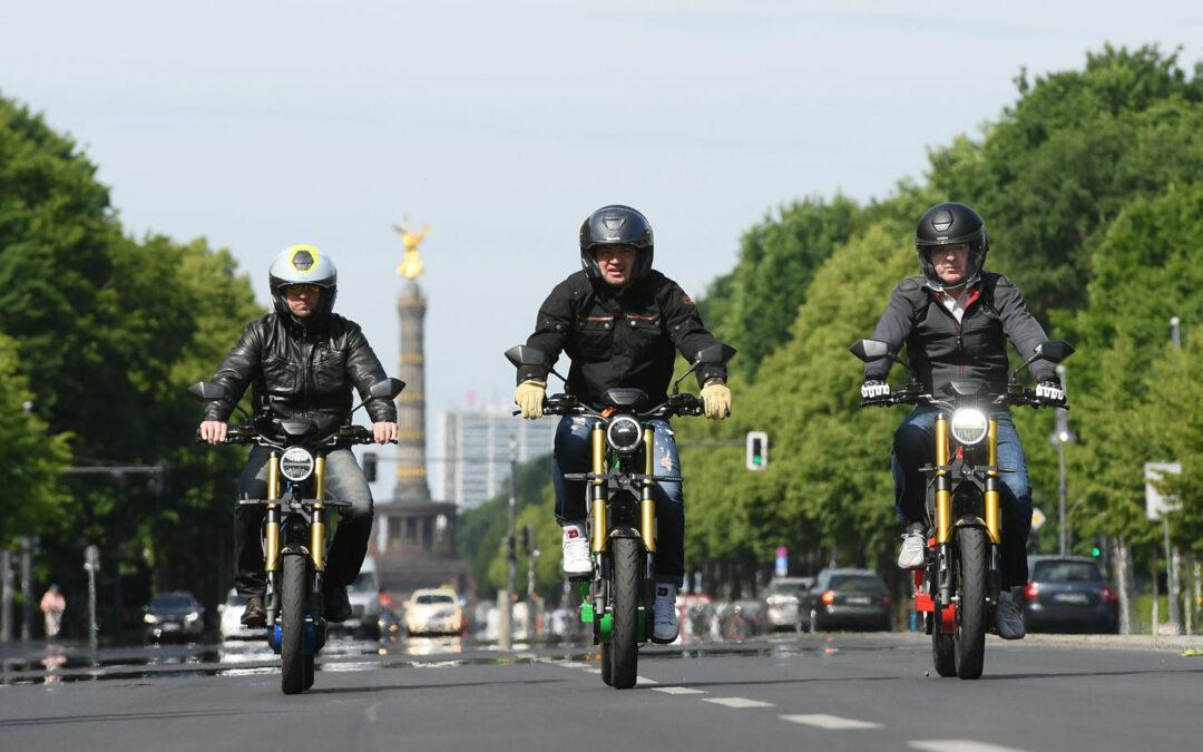 Fahrrad-Motorrad eROCKIT: Strampeln vor Begeisterung