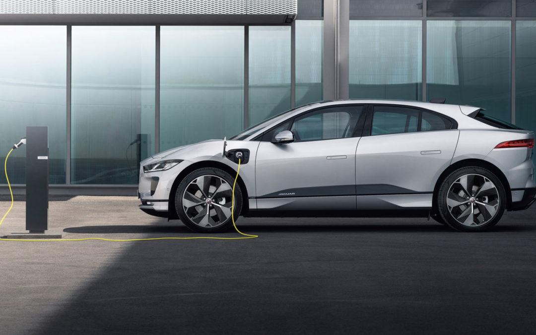 Jaguar i-Pace kann nun auch in drei Phasen Strom laden