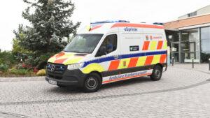 Elektro-Krankenwagen