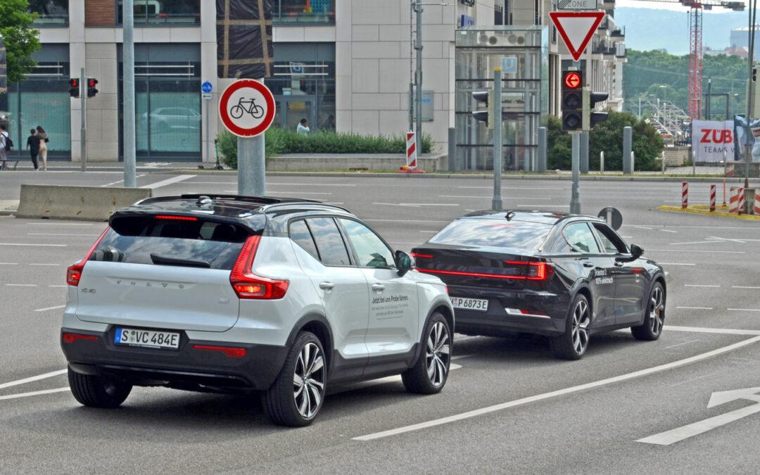 Polestar 2 oder Volvo XC 40? Eine Frage des Charakters