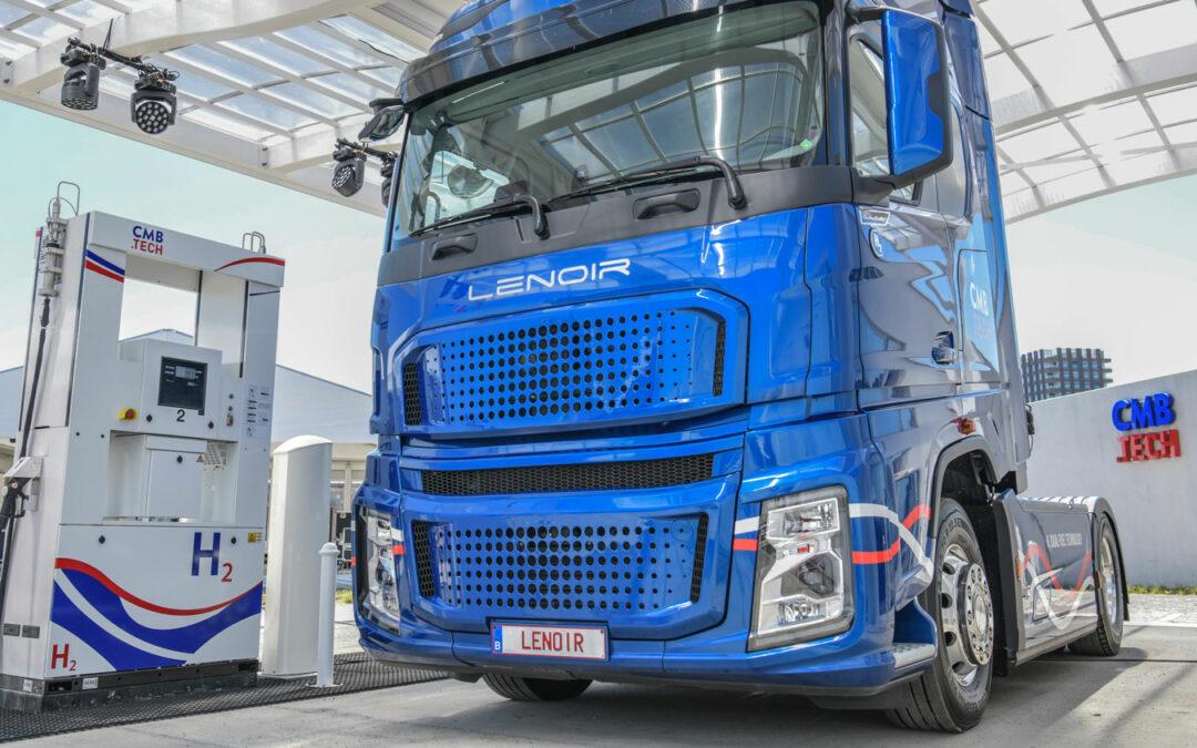 Wasserstoff als auch Diesel in den Tanks