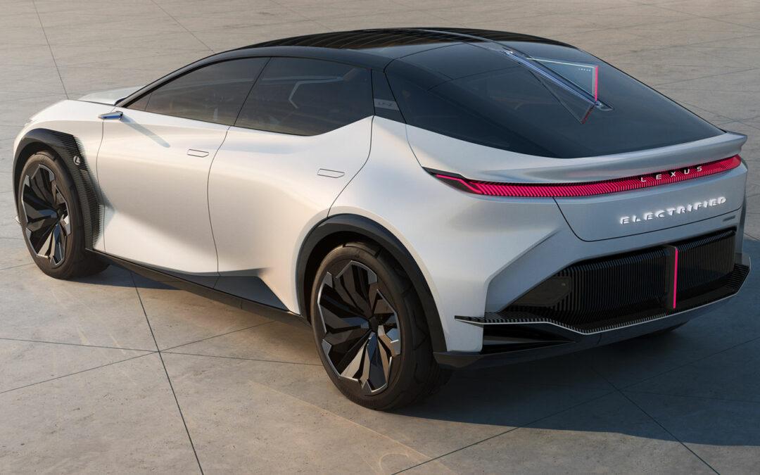 Lexus wirft Lenkstange aus dem Elektroauto