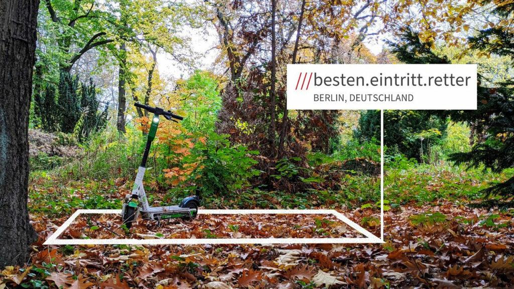 What3words hilft mithilfe eines neuen Koordinatensystems schneller defekte und falsch abgestellte Scooter und Fahrräder aufzufinden – selbst wenn E-Scooter im Wald positioniert werden.