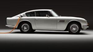 Aston-Martin DB6 Elektro