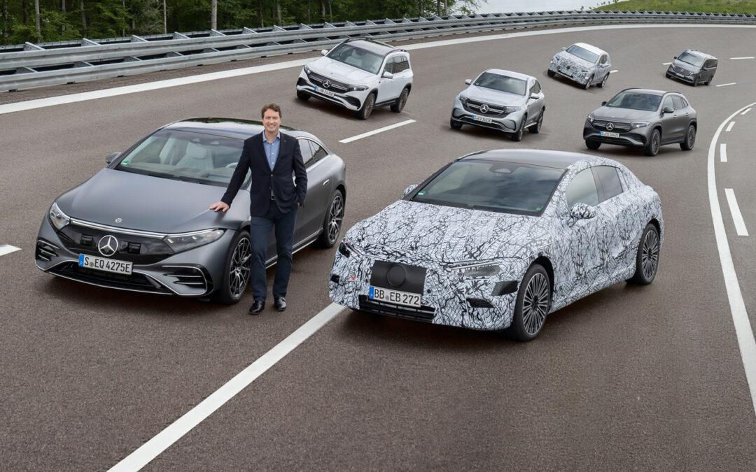 "Mercedes-Benz bis 2030 zu 98 Prozent ""Electric only"""