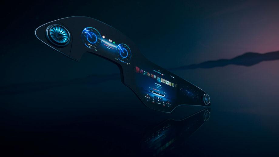Großes Auto-Kino im neuen Mercedes EQ-S