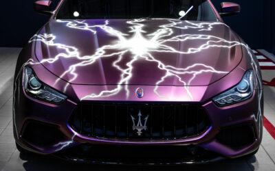 Maserati setzt den Dreizack unter Strom