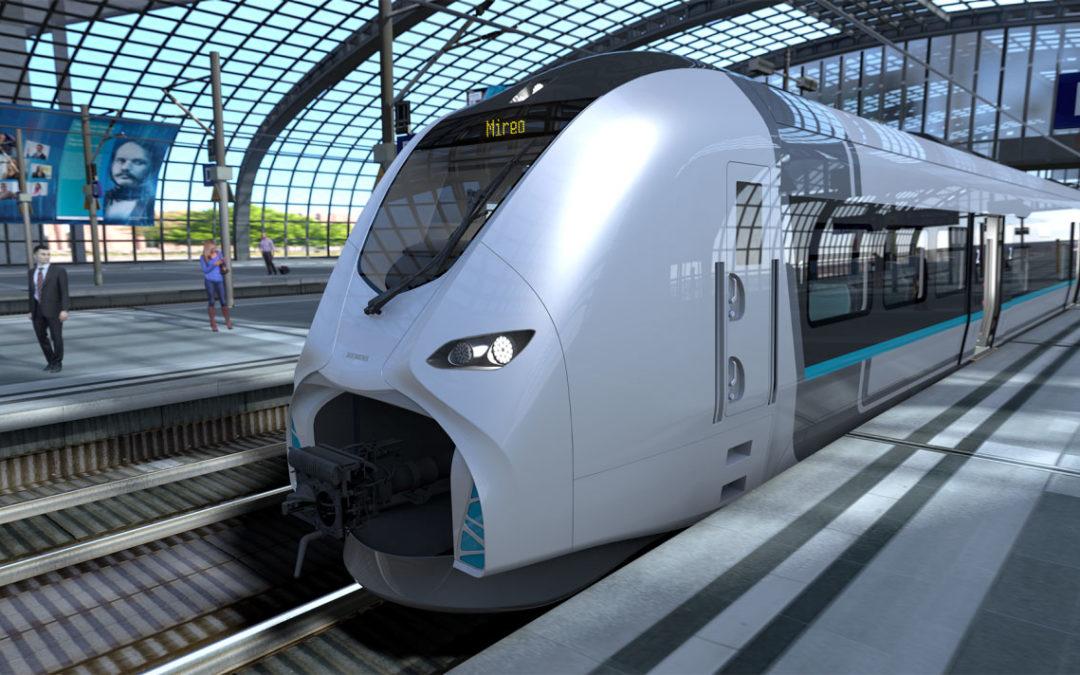 Siemens verkauft seinen ersten Batteriezug