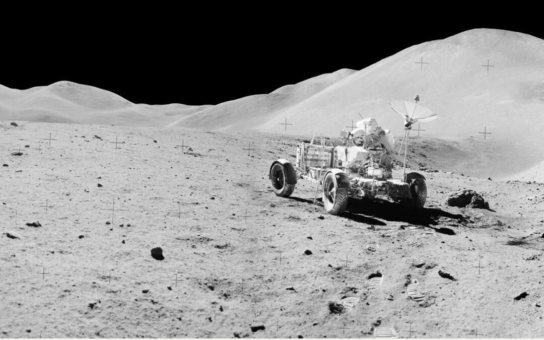 Vor 50 Jahren: Erstes Elektroauto auf dem Mond