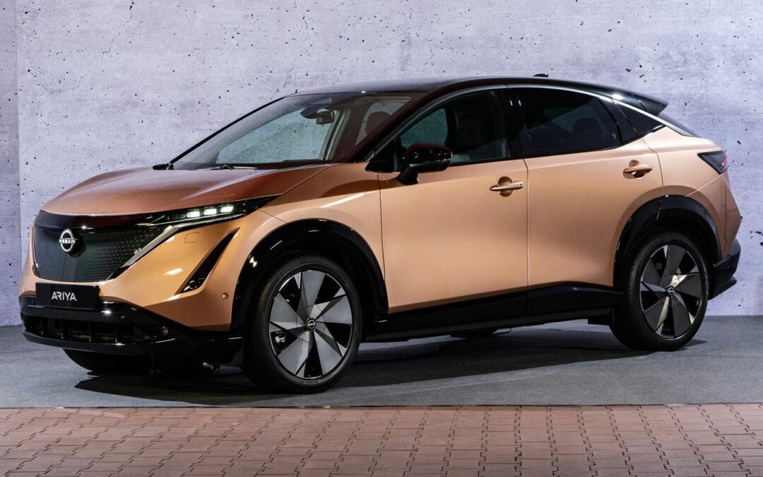 Nissan Ariya: Ein Raumschiff wird kommen – 2022.