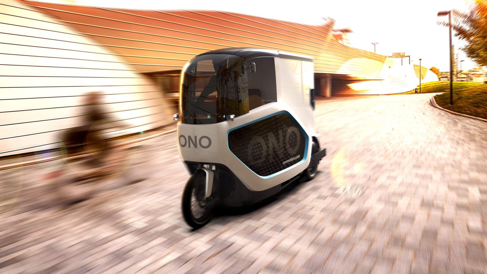 Das elektrische Lastenrad von Ono transport bis zu 220 Kilogramm Zuladung.
