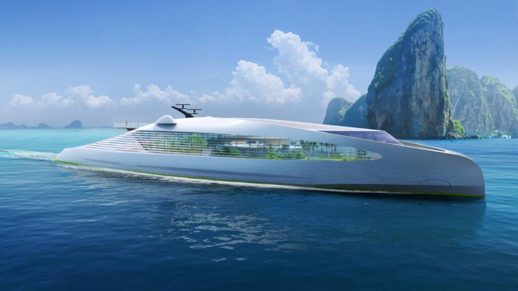 Öko-Yacht