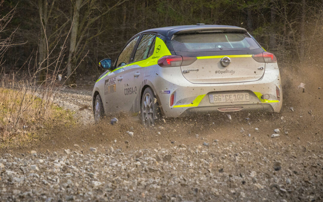 Opel Corsa e-Rallye Cup: Emotionen statt Emissionen: