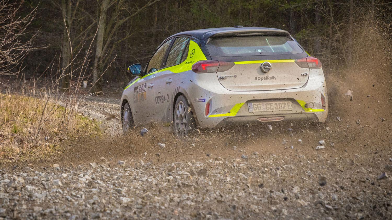 Opel Corsa e-Rallye Cup: Emotionen statt Emissionen: -