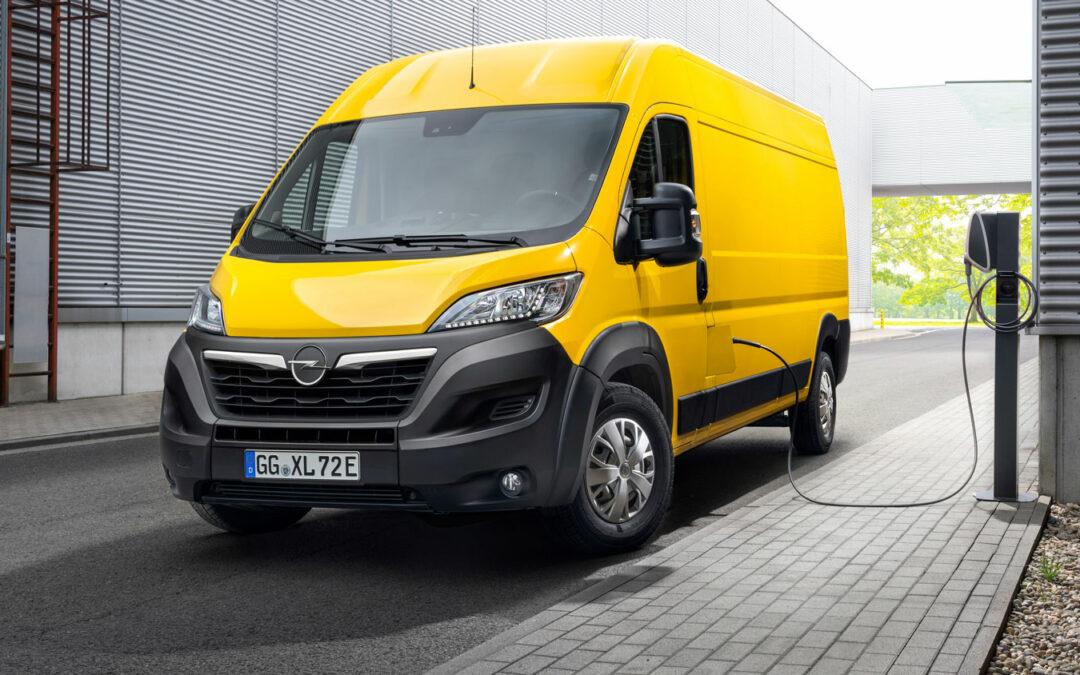 Opel setzt seinen Movano unter Strom