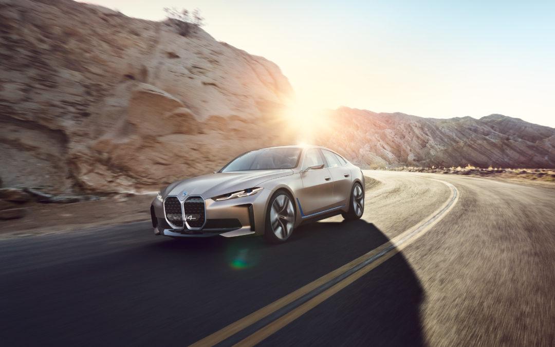 RobinTV E-News: BMW verspricht 600 Kilometer Reichweite beim i4