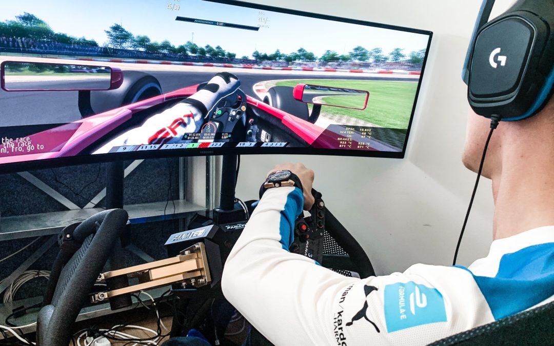 Formel E-Rennen: statt real in Berlin virtuell im Web