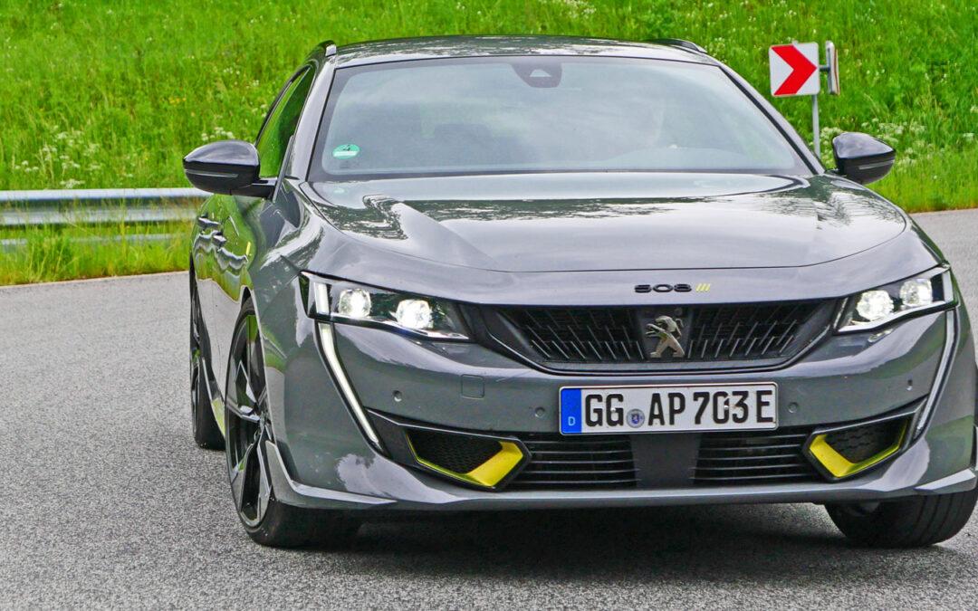 Peugeot 508 PSE: Ein Löwe zeigt Krallen – und schnurrt