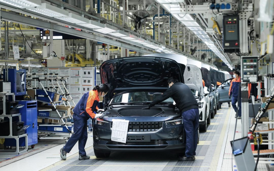 Produktionsstart des Polestar 2 in China