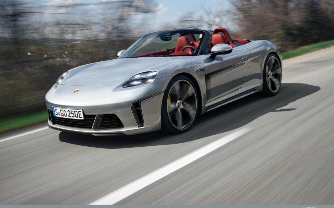 Auch Porsche Boxster und Cayman werden elektrisch