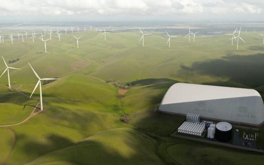 """""""Energy Dome"""" speichert Strom mit Kohlendioxid"""